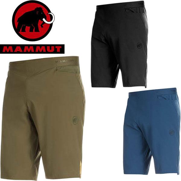 ◆◆ <マムート> 【MAMMUT】 19FW メンズ Crashiano Shorts Men アウトドア クライミング ハーフパンツ 1023-00160