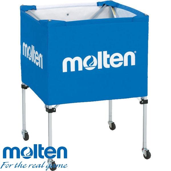 ◆◆ <モルテン> MOLTEN 折りたたみ式ボールカゴ BK20HLB (青) (バレーボール)