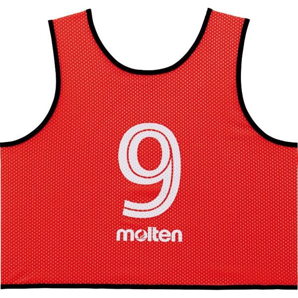 ◆◆ <モルテン> MOLTEN ゲームベストGV10枚セット GS0113 (20:R赤) (サッカー・フットサル)
