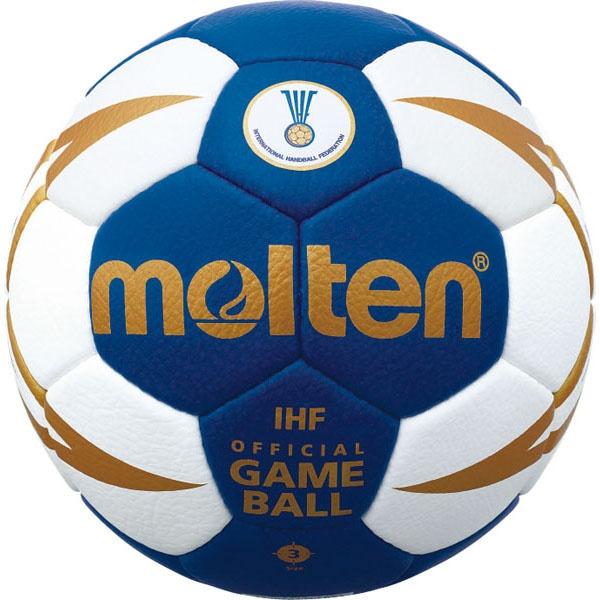 ◆◆ <モルテン> MOLTEN ヌエバX5000 H3X5001BW (ブルー×ホワイト) (ハンドボール)