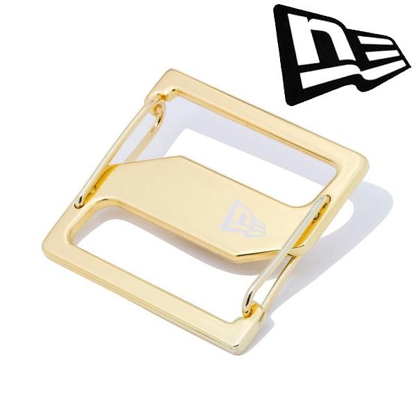 交換無料 送料無料 メール便発送 ニューエラ NEWERA 保証 キャップクリップ 11556666 ゴールド