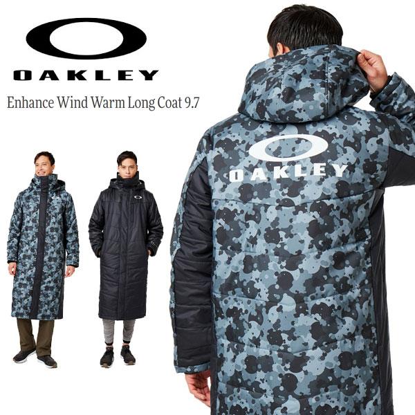 即納可★【OAKLEY】オークリー Enhance Wind Warm Long Coat 9.7 ロングコート 412856JP