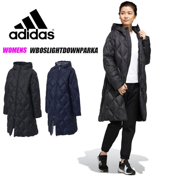 即納可☆【adidas】アディダス 超特価半額 WBOSLIGHTDOWNPARKA レディース 撥水 ロングコート ベンチコート GDT88