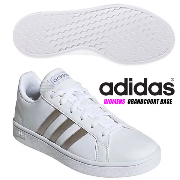 adidas Damen Sneaker Training GRAND COURT BASE EE7874 weiß