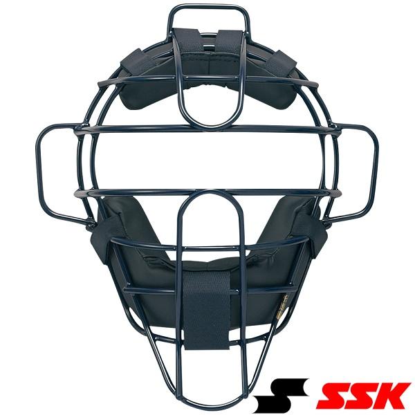 ◆◆ <エスエスケイ> SSK 硬式用チタンマスク CKM1800S (70:ネイビ-) (野球・ソフトボール)