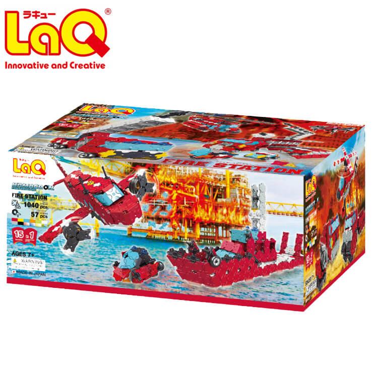 誕生日 おもちゃ プレゼント 知育玩具 ブロック 売却 男の子 女の子 爆売り 子供 FLASHバーゲン限定クーポン LaQ ハマクロンコンストラクター お誕生日 ラキュー 人気 ギフト ファイヤーステーション 知育ブロック