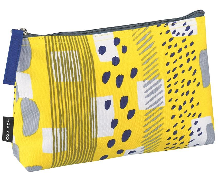 SOU SOUの人気柄を使ったペンケース 大人のたしなみ文房具シリーズです そうそう ペンポ―チM H19003 sousou 文具 高級品 路地 メーカー公式ショップ