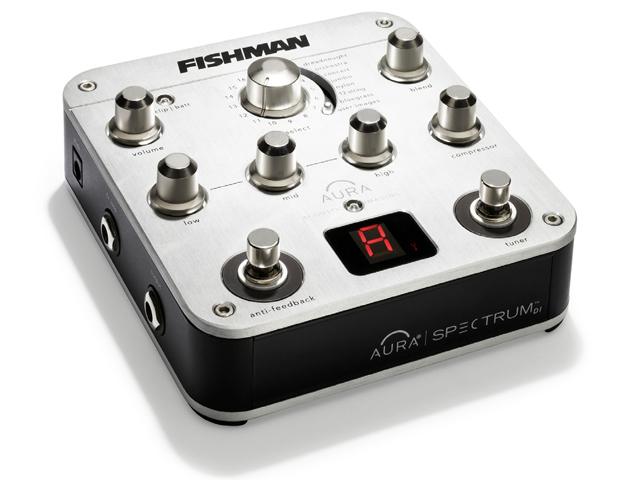 FISHMAN/AUR-SPC Aura Spectrum プリアンプ DIボックス【フィッシュマン】 DI BOX ダイレクトボックス