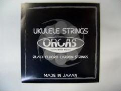 【3,980円以上は送料無料!(一部地域を除く)】 ORCAS/ウクレレ弦 OS-MED (Medium)【オルカス】