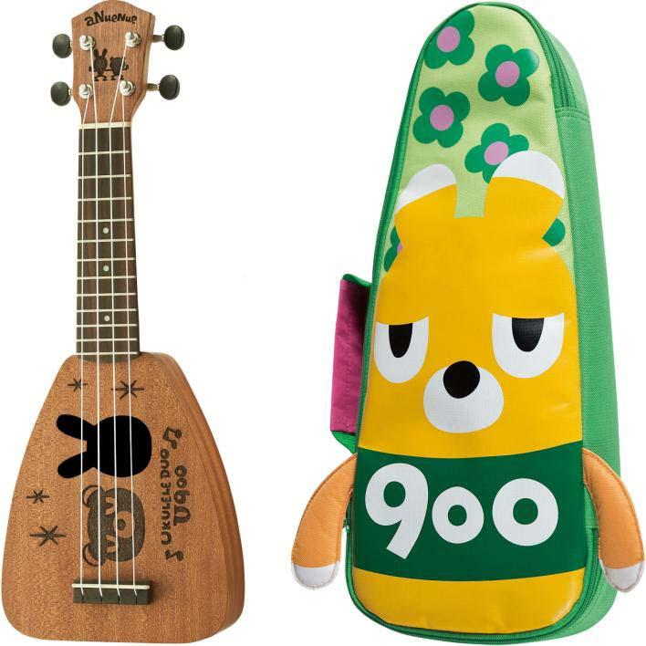 aNueNue/aNN-Baby 900 Riceball 熊野900(くまのクレレ) ウクレレ【アヌエヌエ】