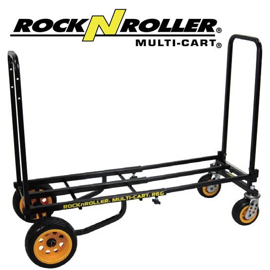 ROCK N ROLLER Cart/R6G Mini Ground Glider 【ロックンローラーマルチカート】楽器や機材の運搬に。キャリーカート ワゴン 台車