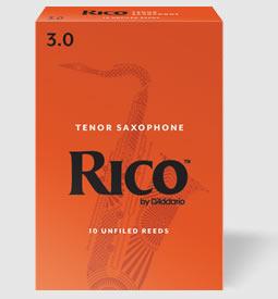 日本全国 送料無料 D'Addario Woodwinds 超激安特価 RICO リコ 10枚入り テナーサックス用リード ウッドウィンズ ダダリオ