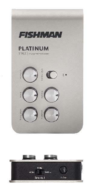 FISHMAN/PRO-PLT-301 PLATUNUM STAGE アコースティックプリアンプ DI【フィッシュマン】