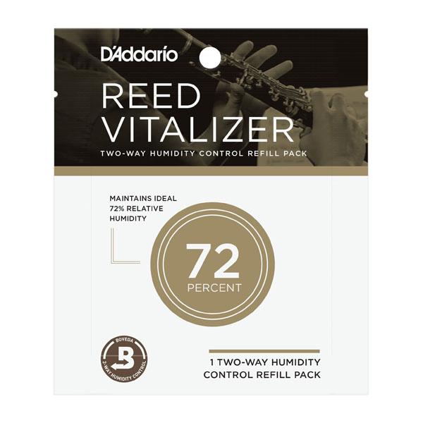 D'Addario Woodwinds RICO リードヴァイタライザー 湿度コントロールパック交換用 高額売筋 予約販売品 メール便発送代引不可 リコ ウッドウィンズ LRICVZ1PK73 ダダリオ
