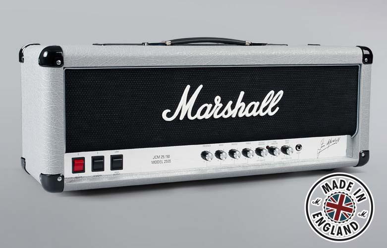 Marshall/ヘッドアンプ 2555X Silver Jubilee Reissue【マーシャル】