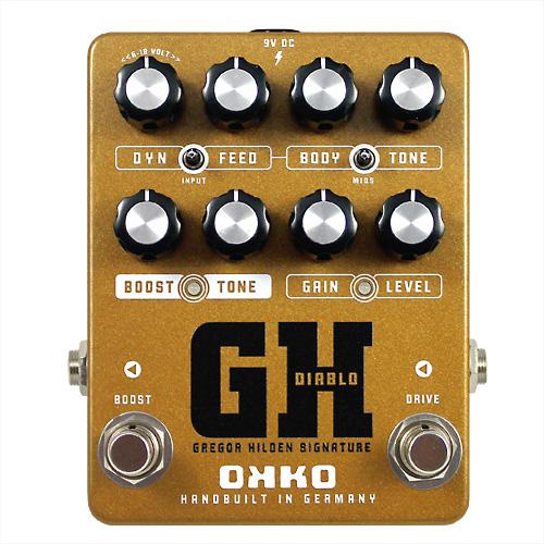 OKKO/Diablo GH - Gregor Hilden Signature オーバードライブ ブースター【オッコ】