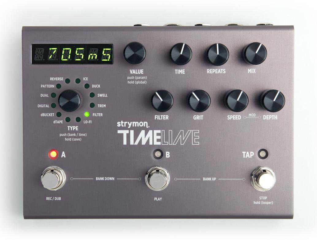 strymon/TIMELINE MIDIプログラム搭載 ディレイ・ユニット【ストライモン】デジタル ディレイ【