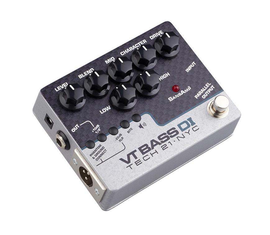 TECH21/SansAmp VT Bass DI ベース用アンプシミュレーター、DIボックス ダイレクトボックス プリアンプ【テック21】