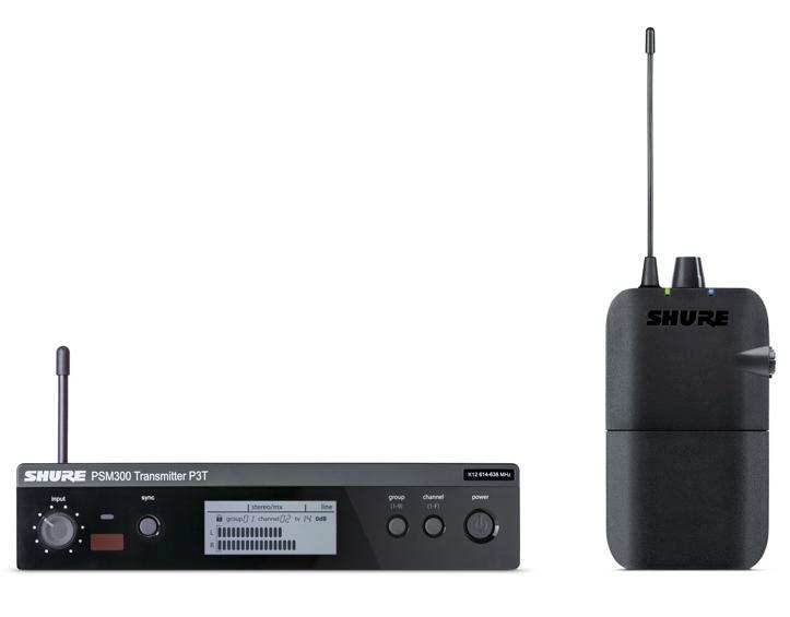 SHURE/ステレオパーソナルモニターシステム PSM300/P3TR 【シュアー】