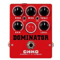 OKKO/DOMINATOR MKII -RED- ディストーション【オッコー】