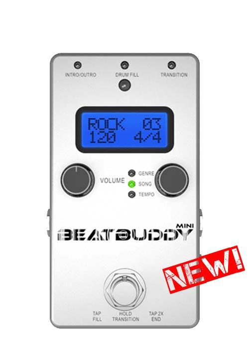 Singular Sound/ドラムマシン BEAT BUDDY MINI(ビート・Eバディ・ミニ) ペダル型ドラムマシン リズムマシーン【シングラー・サウンド】
