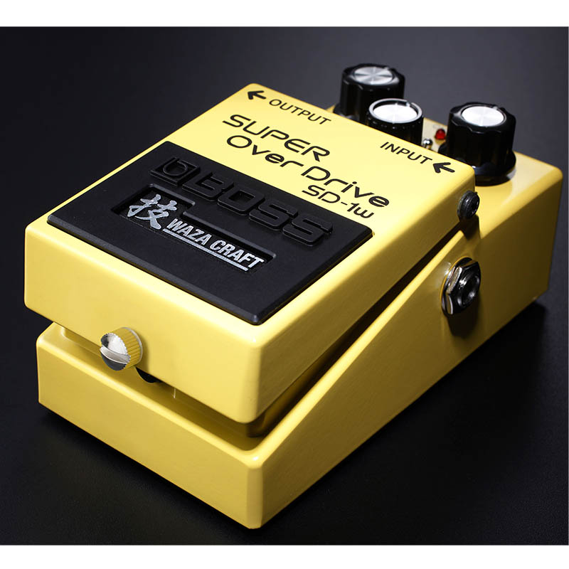 BOSS/WAZA CRAFTシリーズ SUPER OverDrive SD-1W【ボス・Made in Japan】