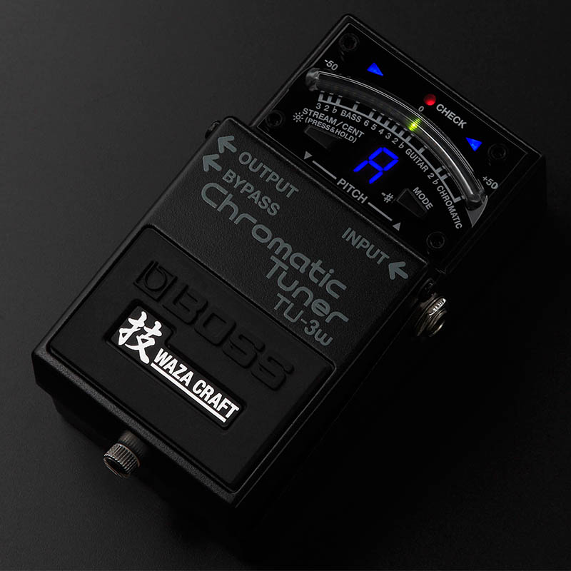 BOSS/WAZA CRAFTシリーズ Chromatic Tuner TU-3W(J) 『MADE IN JAPAN』【ボス】
