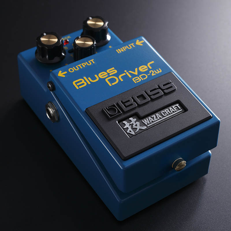 (P)BOSS/WAZA CRAFTシリーズ Blues Driver BD-2W【ボス・Made in Japan】