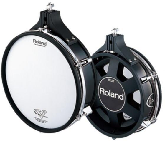 Roland PD-125BK/V-Pad PD-125BK Vドラム用 Roland/V-Pad Vパッド Vドラム用【ローランド】, ミヤコジマク:826c9805 --- officewill.xsrv.jp