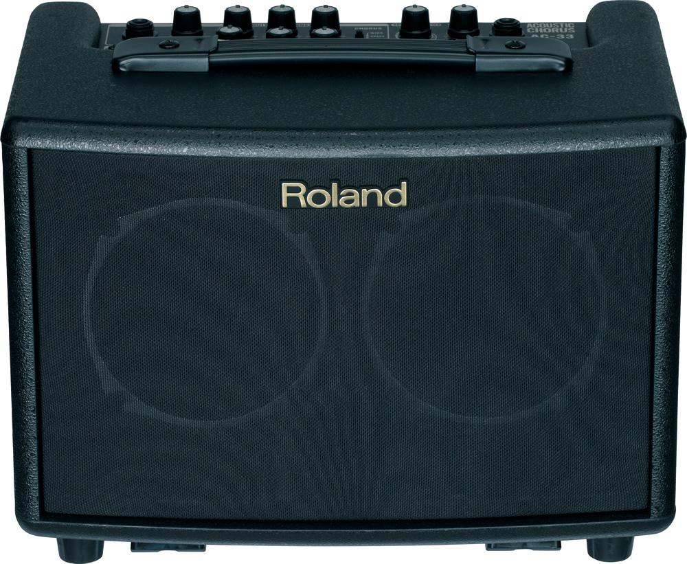 Roland/アコースティック・ギター・アンプ AC-33 マルチエフェクター内蔵【ローランド】