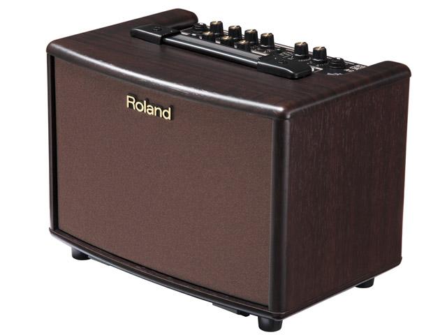 Roland/アコースティック・ギター・アンプ AC-33RW / マルチエフェクター内蔵(ローズウッド調仕上げ)【ローランド】