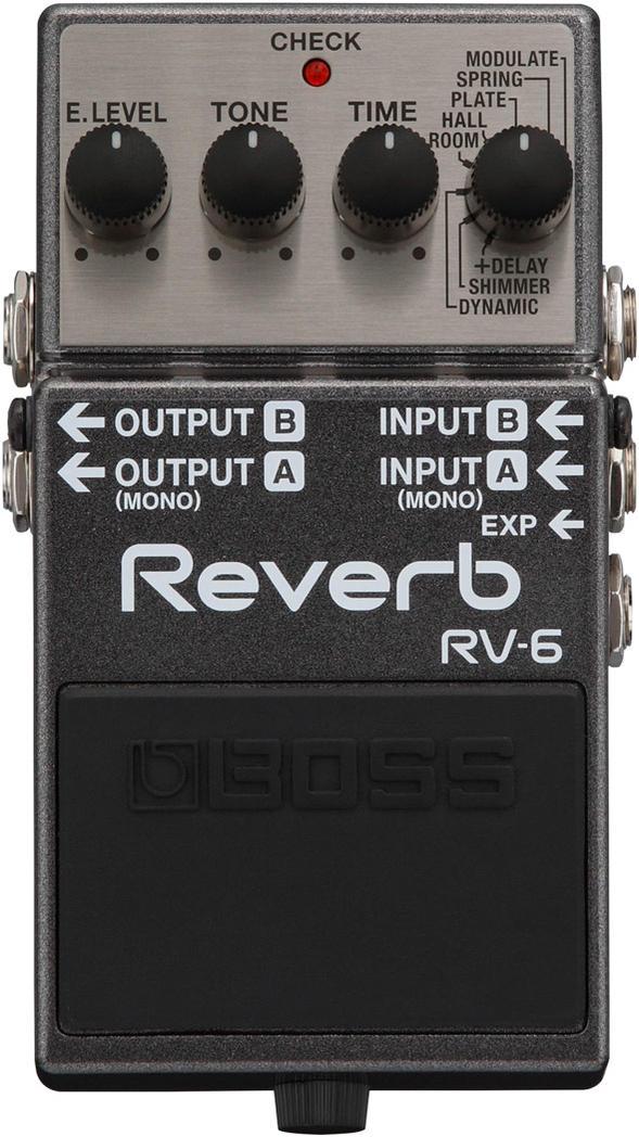 BOSS/Digital Reverb RV-6 リバーブ【ボス】