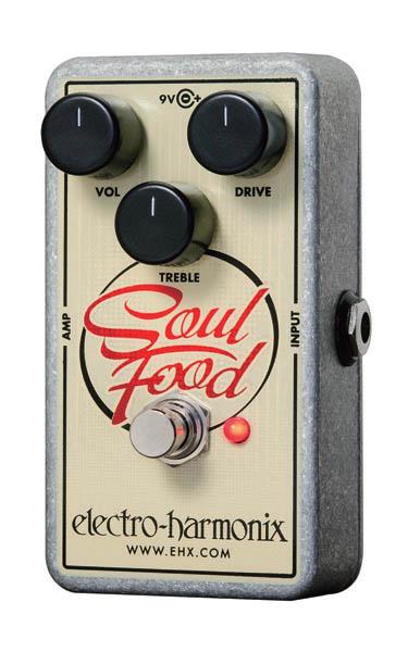 Electro Harmonix/Soul Food オーバードライブ【エレクトロハーモニクス/オーバードライブ】【正規輸入品】