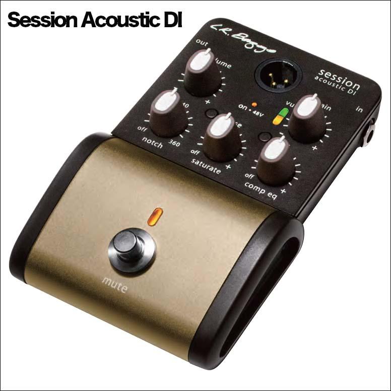 L.R.Baggs/Session Acoustic DI セッション・アコースティックDI BOX【エルアールバッグス】ダイレクトボックス