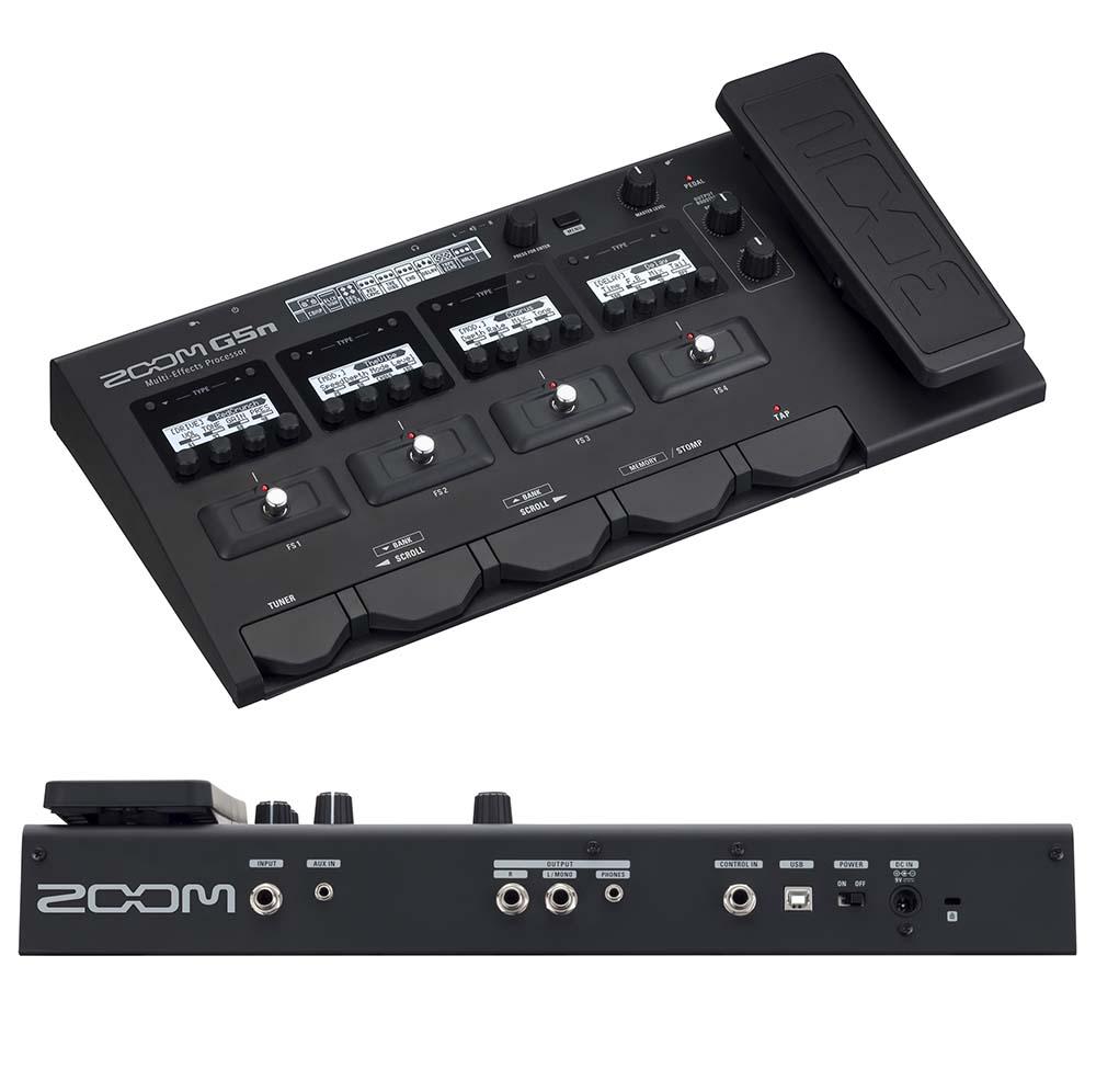 ZOOM/マルチエフェクトプロセッサー G5n マルチエフェクター【ズーム】