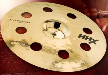 Sabian/HHX Evolution O-Zone Crash 18 HHX-18EVOC-B クラッシュシンバル【セイビアン】