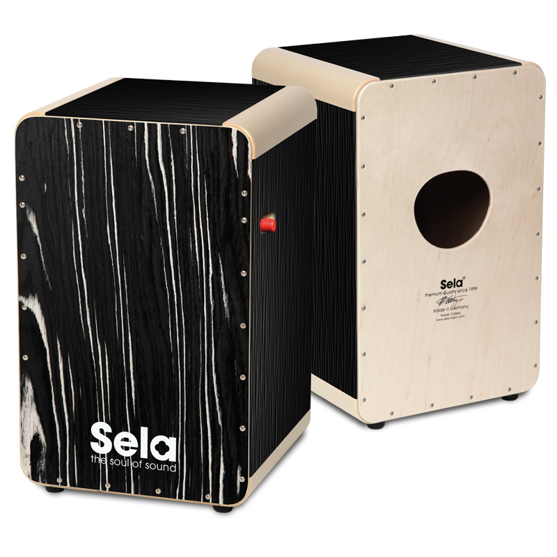 Sela/カホン Wave Pro Black Makassar SE 030 Made in Germany【セラ】