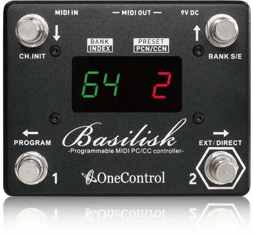 One Control/Basilisk バジリスク MIDIコントローラー【ワンコントロール】