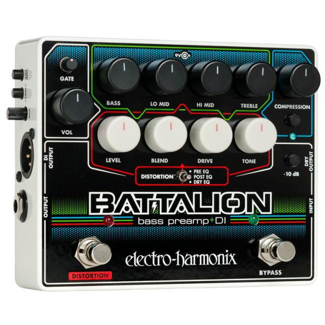 Electro Harmonix/Battalion ベースプリアンプ DI【エレクトロハーモニクス】【正規輸入品】