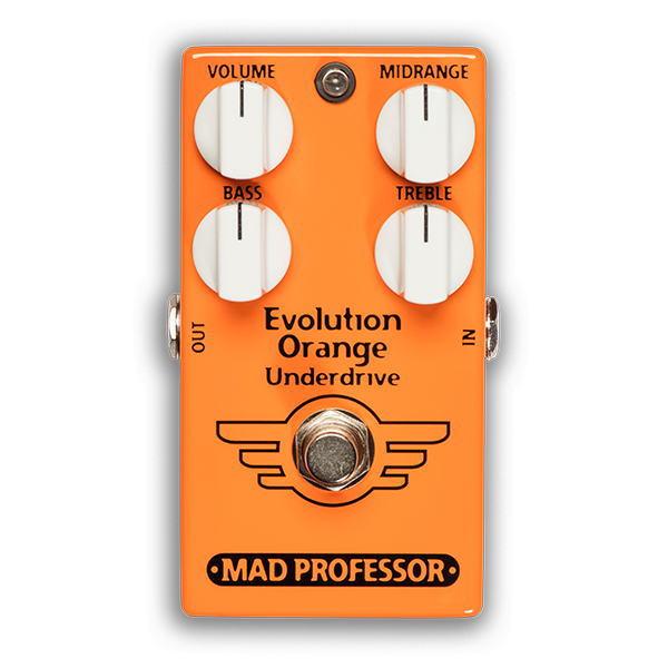 MAD PROFESSOR/Evolution Orange Underdrive FAC エヴォリューションオレンジアンダードライブ【マッドプロフェッサー/FACTORY PEDAL シリーズ】