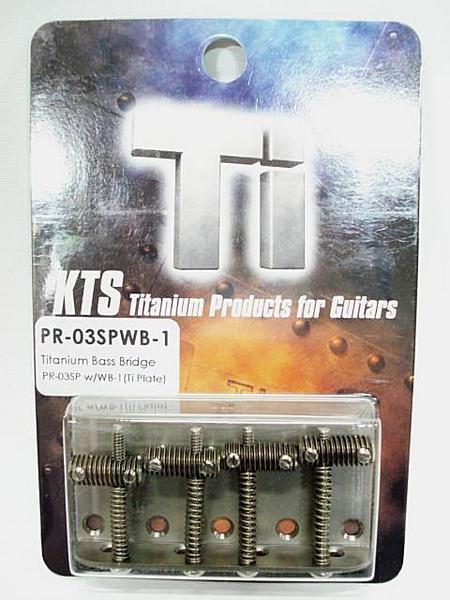 KTS/Titanium Bass Bridge PR-03SPWB1 ベースブリッジ