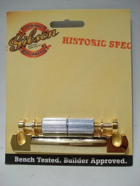 Gibson/テールピース PTTP-080 《Historic LightWeight Aluminum Tailpiece Gold》 【ギブソン】
