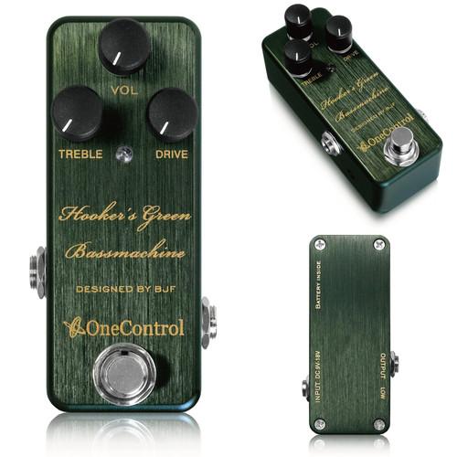 One Control/Hooker's Green Bass Machine ベース オーバードライブ【ワンコントロール】