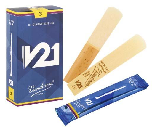 Vandoren V21 ブランド買うならブランドオフ B♭クラリネット用リード バンドレン バンドーレン 限定品