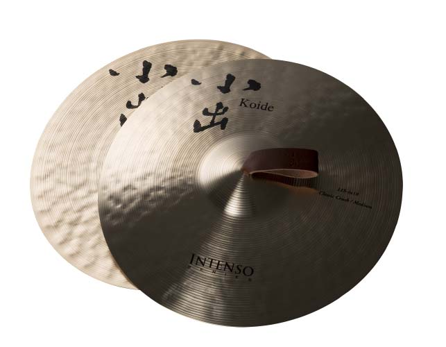 "Koide Cymbal/18インチ 合せシンバル(2枚組)インテンソ""11S""【小出シンバル】【Made in Japan】"