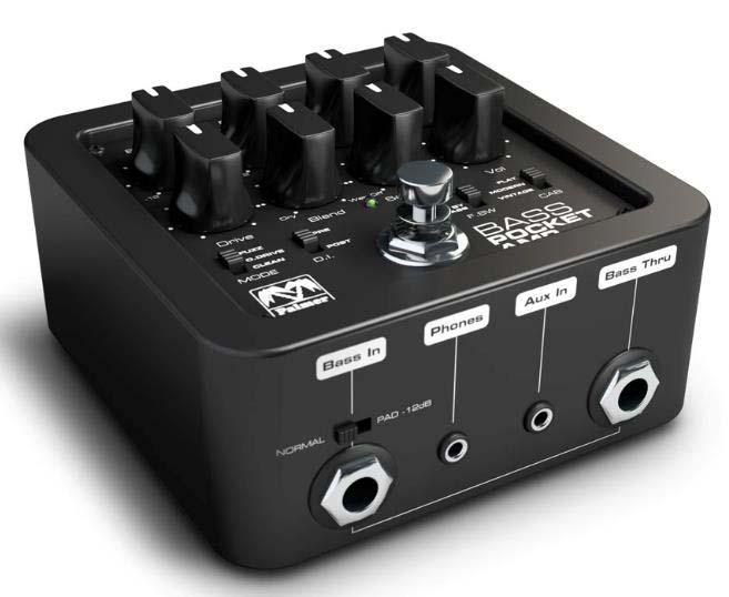 Palmer POCKET AMP BASS ベースプリアンプ DI BOX/ダイレクトボックス【パーマー】