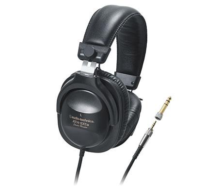 audio-technica/スタジオモニター・ステレオヘッドフォン ATH-SX1a【オーディオテクニカ】