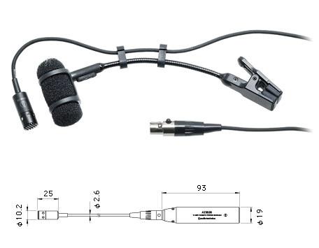 audio-technica/PRO35 バックエレクトレット・コンデンサー型マイクロフォン【オーディオテクニカ】