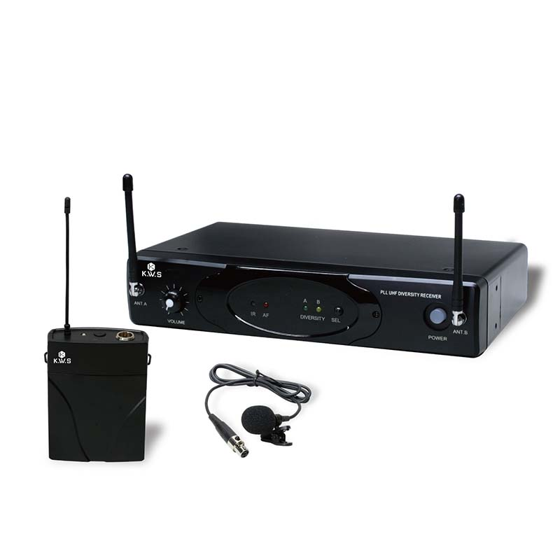 K.W.S/ワイヤレスシステム KWS-899P/LM-60 ピンマイク(ラベリアマイク)シングルタイプ ワイヤレスマイク【KWS】