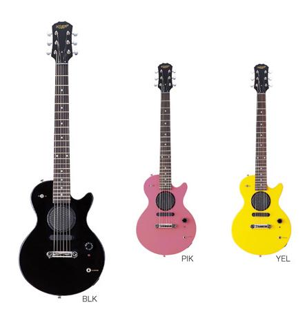 K-GARAGE/ミニLPスピーカー付 SLP-180 ミニギター トラベルギター【ケーガレージ】【アウトドア】